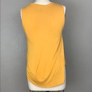 Old Navy Tops - Old Navy Golden Yellow Tee w/ neckline detailing